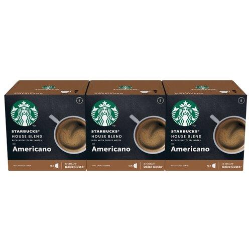 Кофе в капсулах Starbucks Americano (36 капс.) кейс starbucks queen white