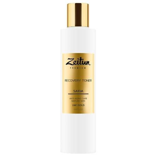 Тoнер Zeitun Premium Saida Recovery Toner с 24K золотом 200 мл