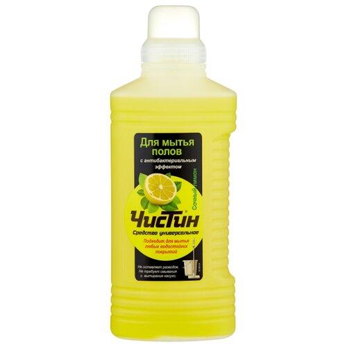 ЧИСТИН Средство для мытья полов Сочный лимон 1 л 1 кг.