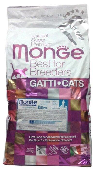Корм для котят Monge Natural Superpremium с курицей