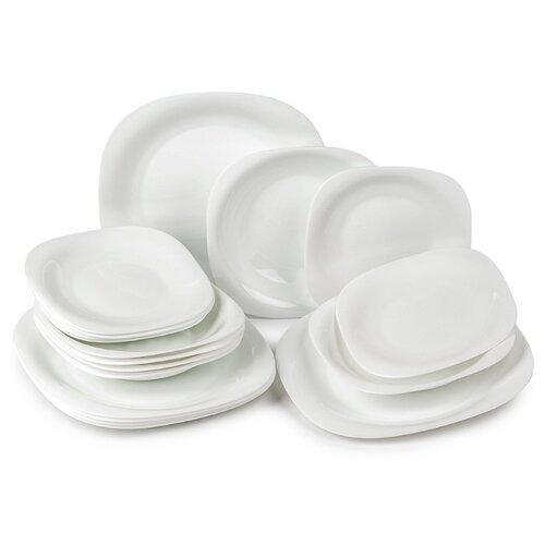 Столовый сервиз Luminarc Carine White, 6 персон белый