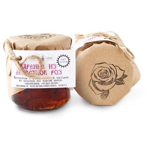 Варенье Таёжный Тайник из лепестков роз (эфиромасличная роза), банка 215 г фото