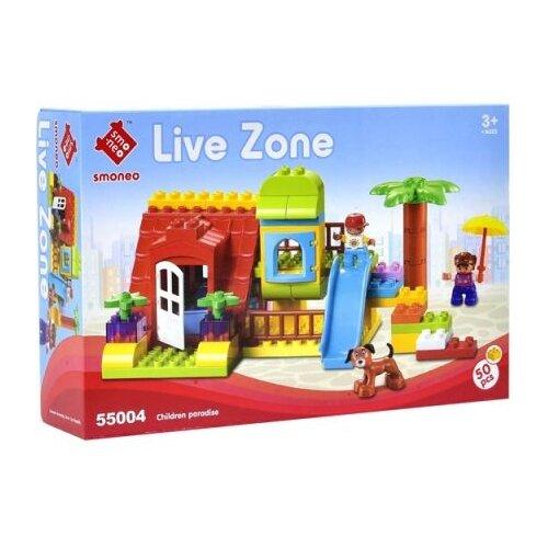 Конструктор Smoneo Live Zone 55004 Детская площадка