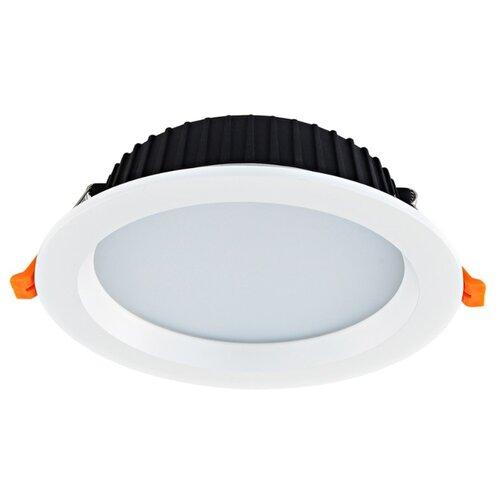Встраиваемый светильник Donolux DL18891/15W White R встраиваемый светильник donolux dl132g shampagne gold