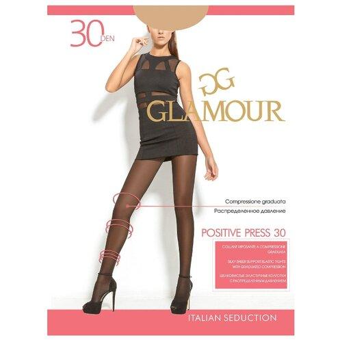 Колготки Glamour Positive Press 30 den miele 5-XL (Glamour)Колготки и чулки<br>