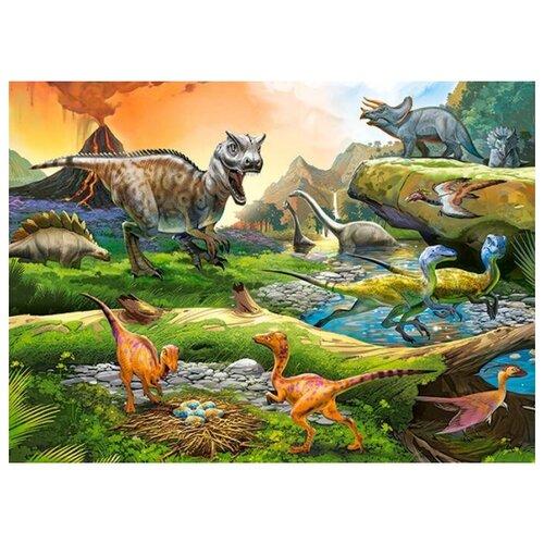 Купить Пазл Castorland Мир динозавров (B-111084), 100 дет., Пазлы