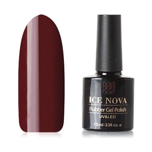 Гель-лак для ногтей ICE NOVA Rubber Gel Polish, 10 мл, 188 гель лак для ногтей ice nova rubber gel polish 10 мл 185