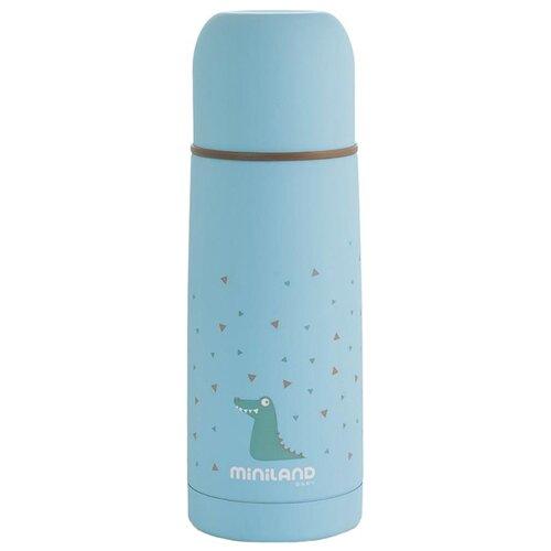 Классический термос Miniland Silky (0.35 л) голубой