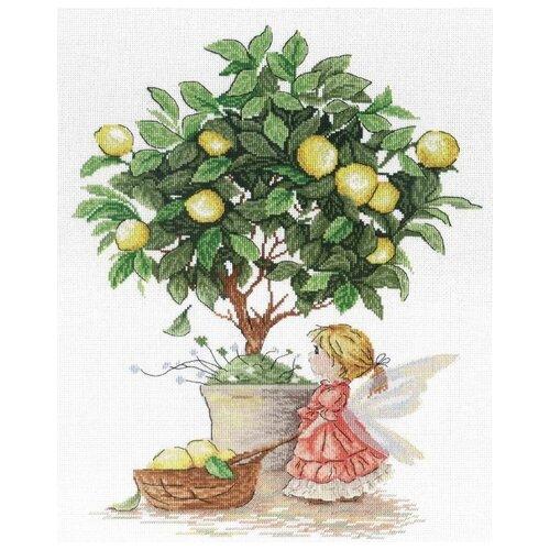 Купить М.П.Студия Набор для вышивания Лимонная фея (НВ-547), Наборы для вышивания