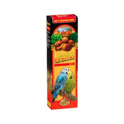 Лакомство для птиц Катрин медово-ореховые 70 г