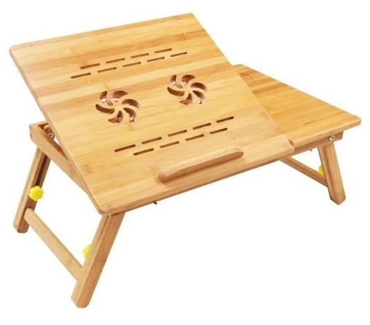 Столик складной для ноутбука из бамбука массажер сибиряк купить