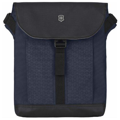 сумка планшет victorinox текстиль синий Сумка планшет VICTORINOX, текстиль, синий