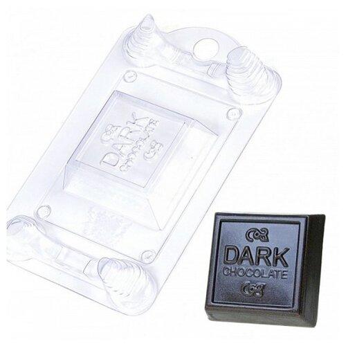 Форма для мыла Выдумщики.ru Темный шоколад пластиковая форма для мыла выдумщики лапка