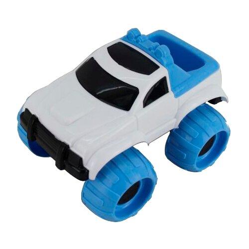 Внедорожник Наша игрушка Y16049782 19 см белый/синий
