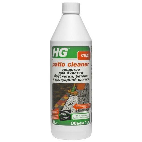 Жидкость HG Средство для очистки брусчатки, бетона и тротуарной плитки, 1 л