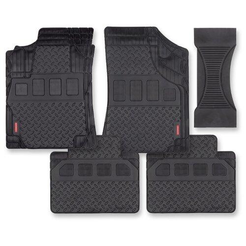 Комплект ковриков AUTOPROFI MAT710 5 шт. черный
