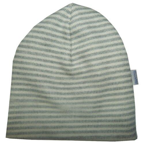 Купить Шапка Папитто размер 44, серый, Головные уборы