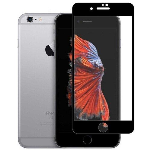 Защитное стекло Defensa 5D для Apple iPhone 6/iPhone 6s черный/прозрачный защитное стекло caseguru для apple iphone 6 6s silver logo