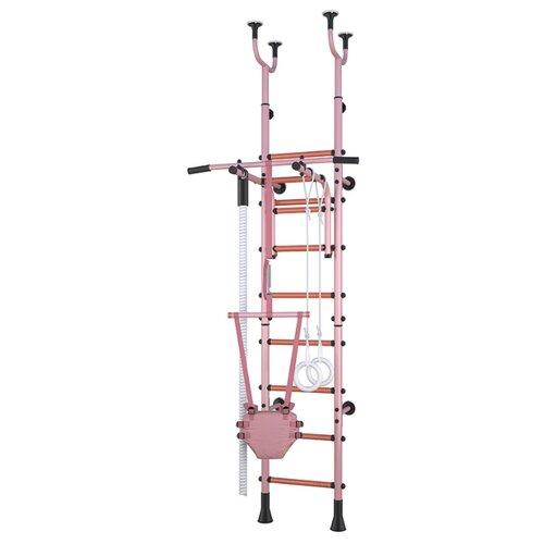 Шведская стенка Polini Sport Active розовый