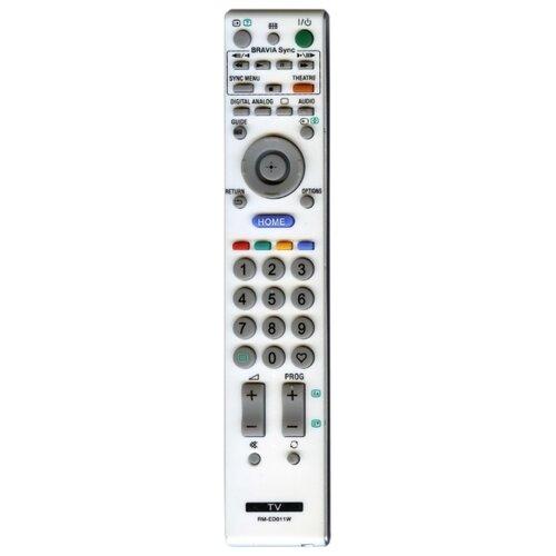 Пульт ДУ Huayu RM-ED011 / ED011W для телевизоров Sony KDL-26V4500/KDL-32E4000/KDL-32V4500/KDL-32W4000/KDL-32W4000K/KDL-37V4500 серый