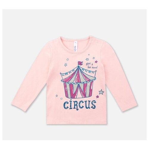 Лонгслив playToday размер 92, светло-розовый колготки для девочки acoola muna цвет светло розовый 20254460001 3400 размер 92