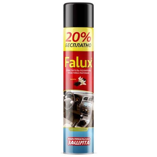 PLEX Очиститель-полироль салона автомобиля Falux Ваниль plex очиститель многофункциональный для салона автомобиля effect spray 0 65 л