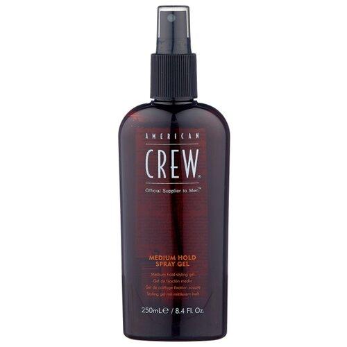 Купить American Crew спрей-гель для укладки Medium Hold Spray Gel, 250 мл