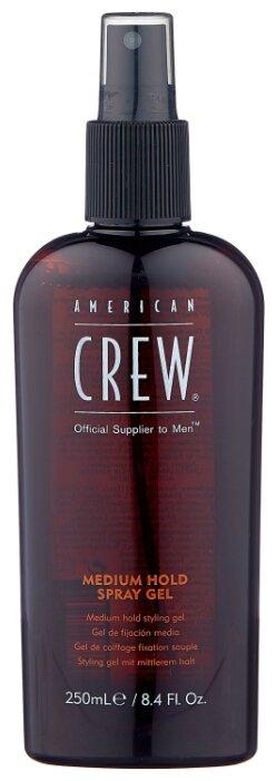 American Crew спрей гель для укладки Medium