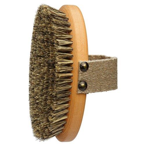 Щетка Forster\'s Массажная из древесины и натуральной щетины (000197) коричневый