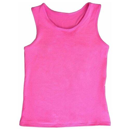 Купить Майка Chersa Россия размер 28, розовая, Футболки и топы