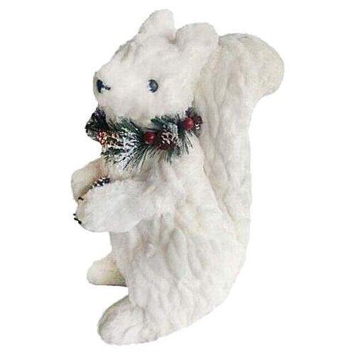 Фигурка Новогодняя Сказка Белка 19 см (973015) белый