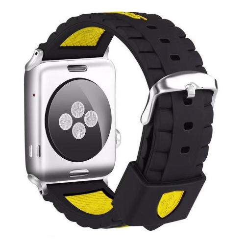 Купить CARCAM Ремешок для Apple Watch 42mm Силикон желтый
