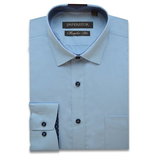 Купить Рубашка Imperator размер 37/164-170, голубой, Рубашки