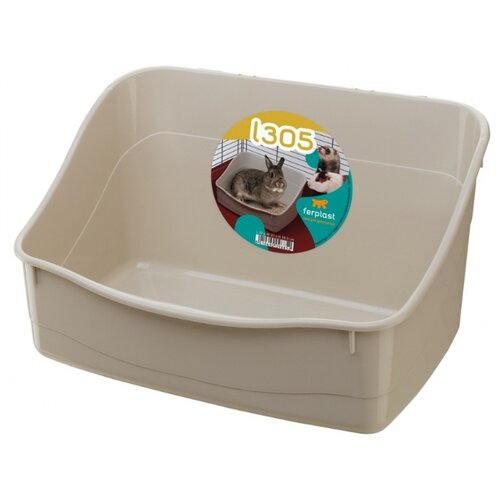 Туалет для кроликов Ferplast L305 бежевый