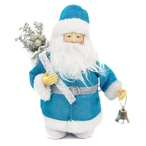 Фигурка Новогодняя Сказка Дед мороз 20 см (973727) синий фигурки magic time фигурка новогодняя дед мороз с зайчиком 75531