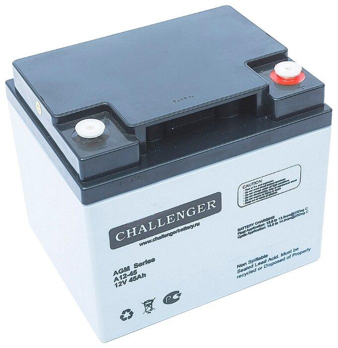 Аккумуляторная батарея Challenger A12-45 45 А·ч — цены на Яндекс.Маркете