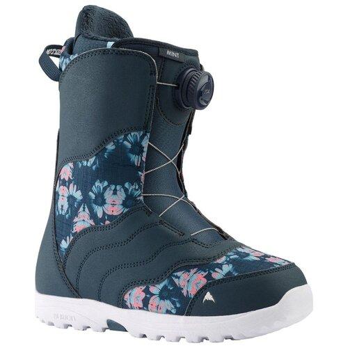 Ботинки для сноуборда BURTON Mint Boa 6 (BURTON) midnight blue/multi 2019-2020