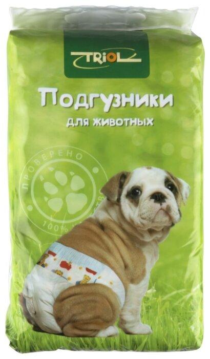 Подгузники для собак Triol 10541003 Размер M 52 см