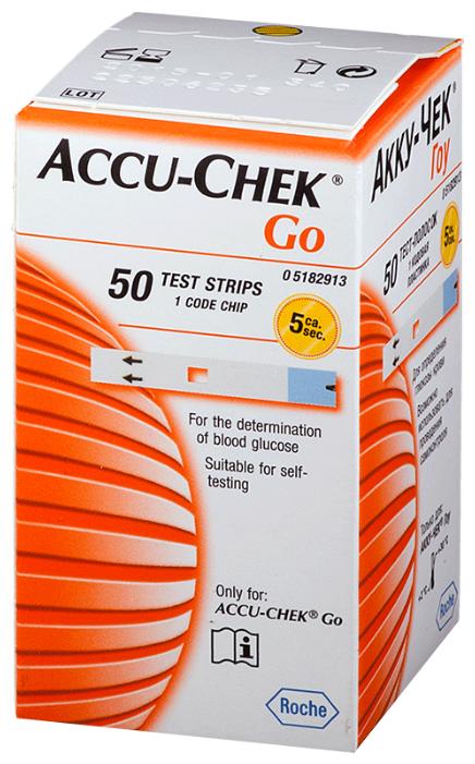 Accu-Chek тест-полоски Go