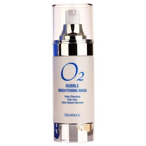 Deoproce Осветляющая кислородная маска O2 Bubble brightening mask, 100 мл  - Купить