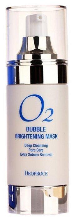 Deoproce Осветляющая кислородная маска O2 Bubble brightening mask