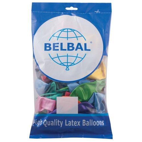Фото - Набор воздушных шаров Веселая затея 1101-0025 (50 шт.) веселая затея салфетки весёлая затея радуга 33 33см 6 шт с фольгой