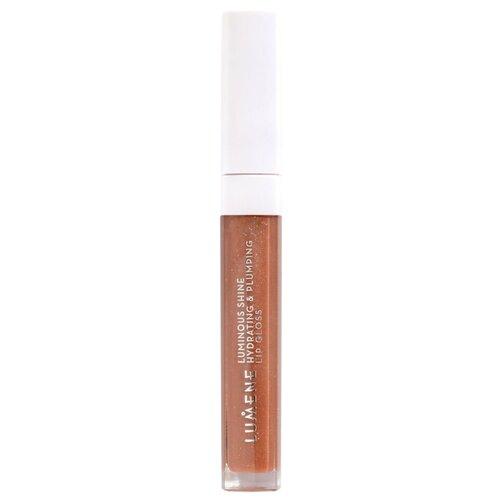 Купить Lumene блеск для губ Luminous Shine Hydrating & Plumping Lip Gloss, 2 warm nude