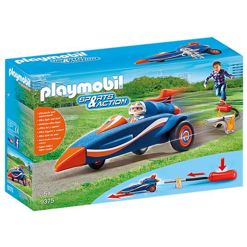 Набор с элементами конструктора Playmobil City Action 9375 Гонщик