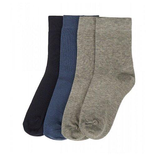 Купить Носки Oldos комплект 4 пары размер 29-31, темно-синий/джинс/серый