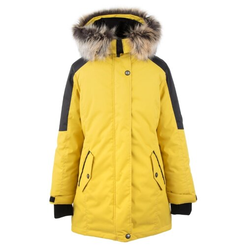 Парка KERRY Tarja K20462 размер 152, 0112 желтый, Куртки и пуховики  - купить со скидкой