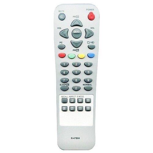 Пульт ДУ Huayu R-47B04 для телевизоров Daewoo DSL-17D4/DSL-20D3/DSL-15D4/DSL-17D4/DSL-20D4/DLP20B2 серый