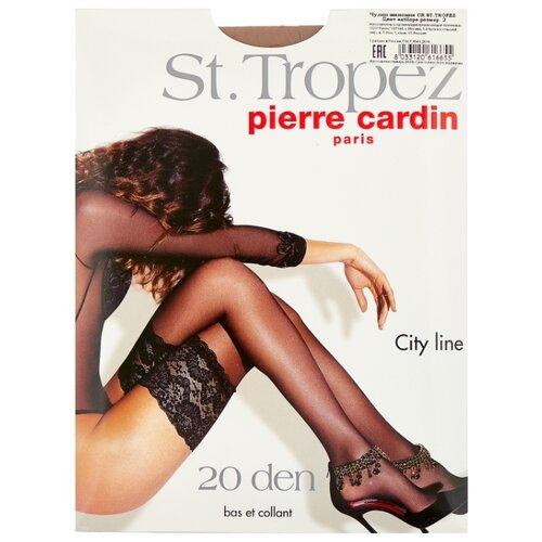 Чулки Pierre Cardin St.Tropez, City Line 20 den, размер II-S, antilope (бежевый)