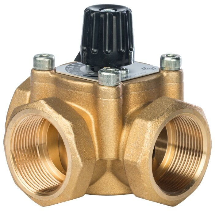 Трехходовой смесительный клапан STOUT SVM-0003-014001 муфтовый (ВР), Ду 40 (1 1/2