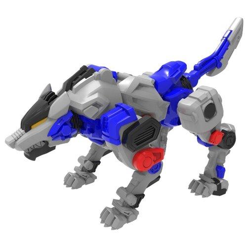 Купить Трансформер YOUNG TOYS Metalions Direwolf Mini серый/синий, Роботы и трансформеры